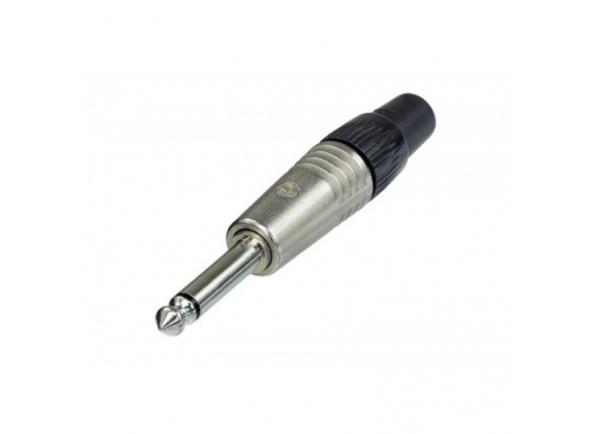 Ficha Jack Conector /Fichas Jack de 6.3mm (macho e fêmea) Proel Mono Jack Connector 6.3mm Cord Plug MALE BLACK