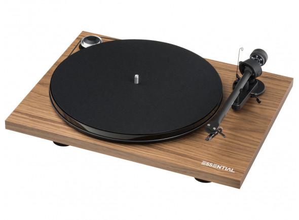 Gira-discos de alta fidelidade Project Essential III BT Walnut B-Stock
