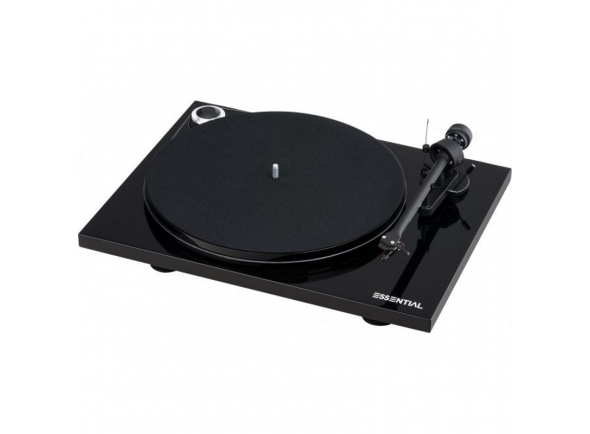 Gira-discos Project Essential III Phono Preto