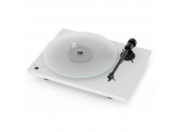Gira-discos profissionais de Dj Project  T1 Phono Sb Satin White