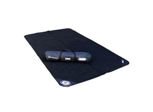 Tapete para bateria/Tapetes para bateria Protection Racket Origami Folding Drum Mat 2.75m x 1.6m