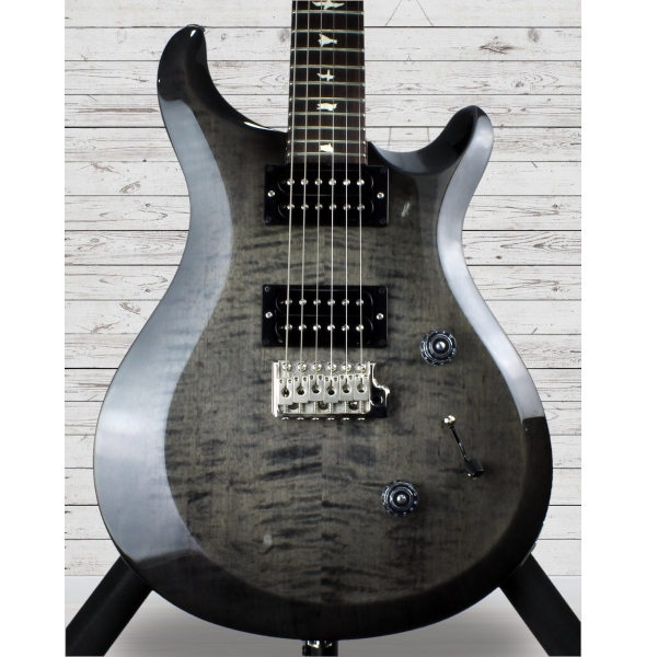 Guitarras formato Double Cut PRS S2 Custom 24 Elephant Gray