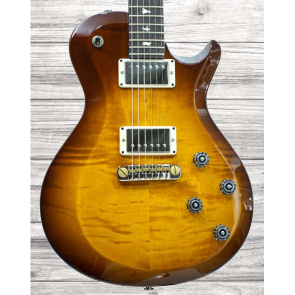 Guitarras formato Single Cut PRS S2 Singlecut Amber Sunburst