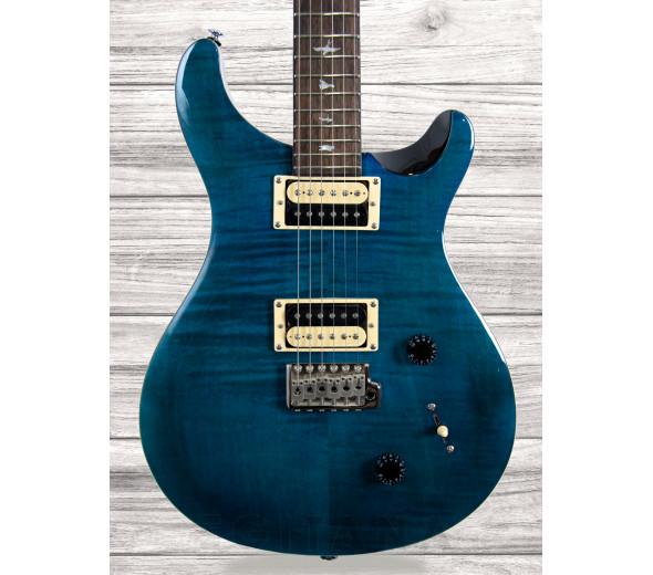 Guitarra elétrica/Guitarras formato Double Cut PRS SE Custom 22, Sapphire