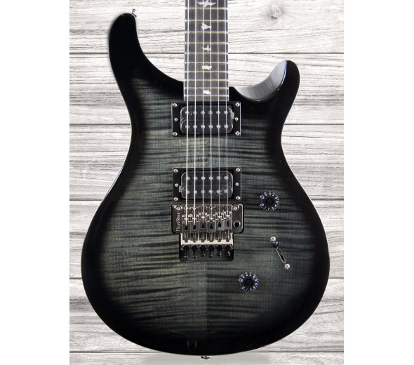 Guitarras formato ST PRS  SE Floyd Custom 24 Charcoal Burst