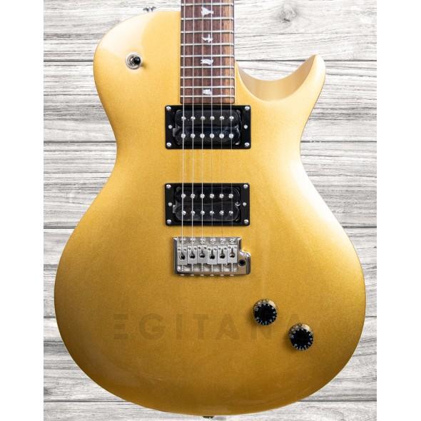 Guitarras formato Single Cut PRS SE Santana Singlecut Trem (Egyptian Gold)