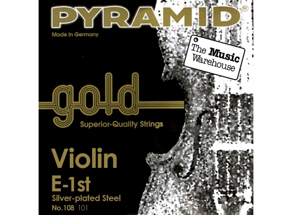 Cordas Pyramid Gold Violin Strings 4/4