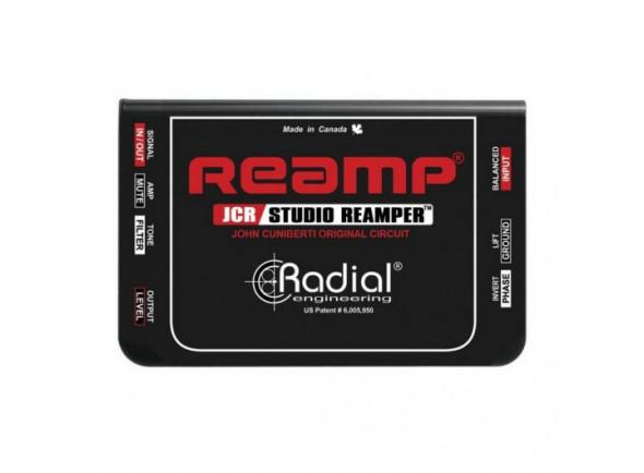 Caixa de amplificação de estúdio para amplificadores/DI-Boxes Radial Engineering JCR