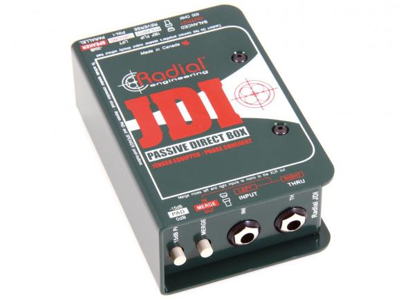 Caixa DI Passiva Profissional/DI-Boxes Radial Engineering JDI