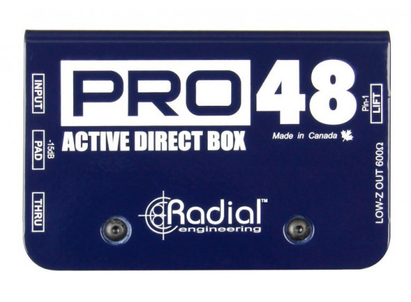 DI-Boxe ativa/DI-Boxes Radial Engineering Pro 48