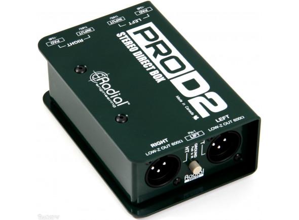 Caixa DI stéreo passiva/DI-Boxes Radial Engineering Pro D2