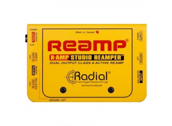 Caixa de amplificação ativa/Repartidores de sinal Radial Engineering X-AMP