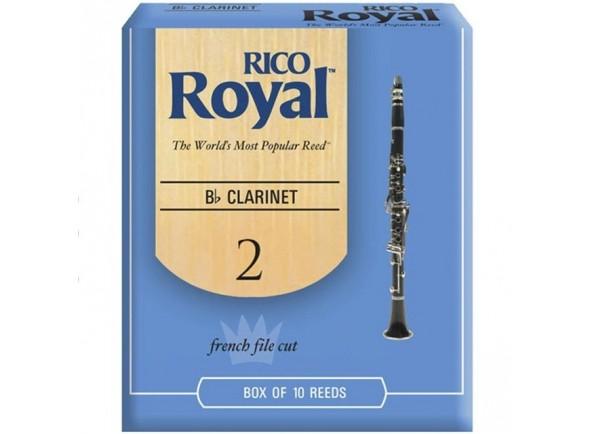 Palheta nº2/Palheta para clarinete Rico Royal Bb Si bemol Clarinete 2