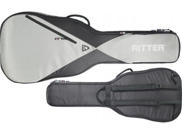 Estojo para guitarra clássica RITTER RGP5-D ACUS NEGRO