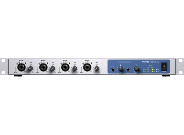 Interfaces de áudio Firewire RME Fireface 802