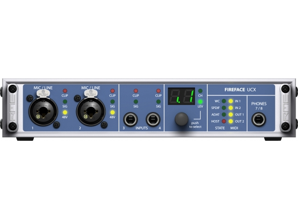 Interfaces de áudio Firewire RME Fireface UCX