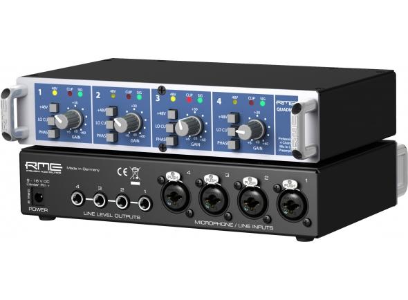 Pré-amplificador RME QuadMic II