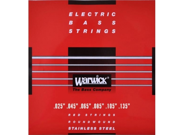Jogos de cordas para baixo elétrico Rock Bass - Warwick 42401 M Red Label