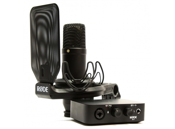 Interface Áudio USB Rode Complete Studio Kit