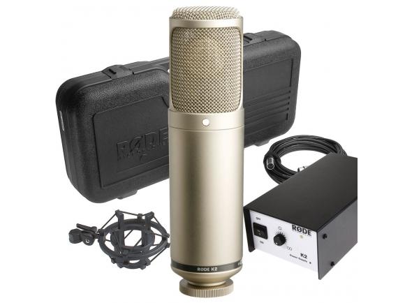 Microfones de estúdio Rode K2