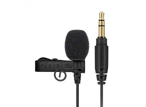 Microfone condensador lapela/Microfone de lapela Rode Lavalier GO