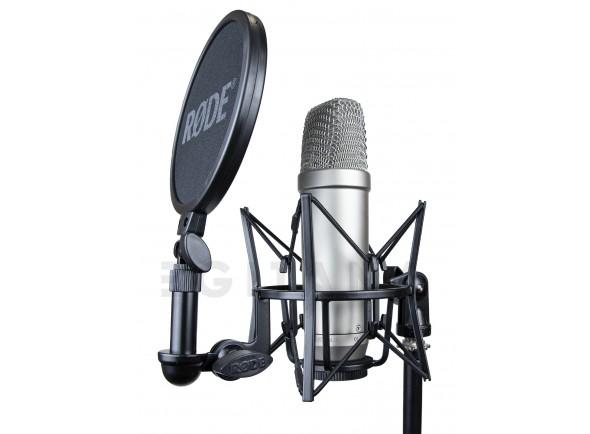 B-stock Micrófono de diafragma grande Rode NT1-A Complete Vocal Recording B-Stock