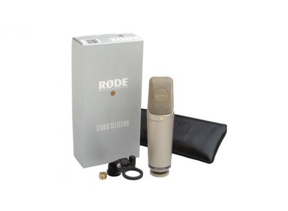 Microfone de membrana grande Rode NT1000