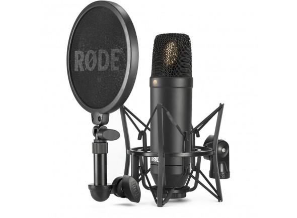 Microfone condensador cardióide de diafragma grande/Microfone de membrana grande Rode  NT1