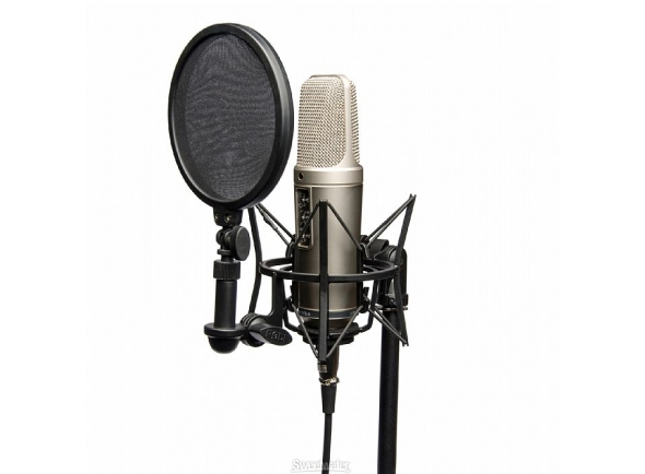 Microfone de membrana grande Rode NT2-A Studio Solution Set