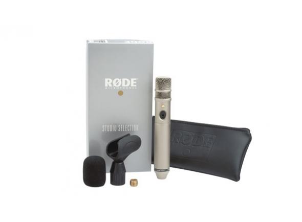 Microfone condensador membrana pequena Rode NT3