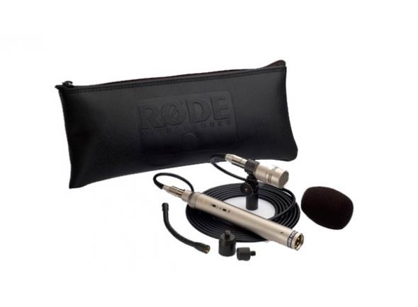 Microfone condensador membrana pequena Rode NT6