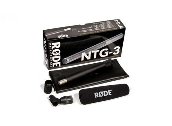 Microfone condensador membrana pequena Rode NTG-3