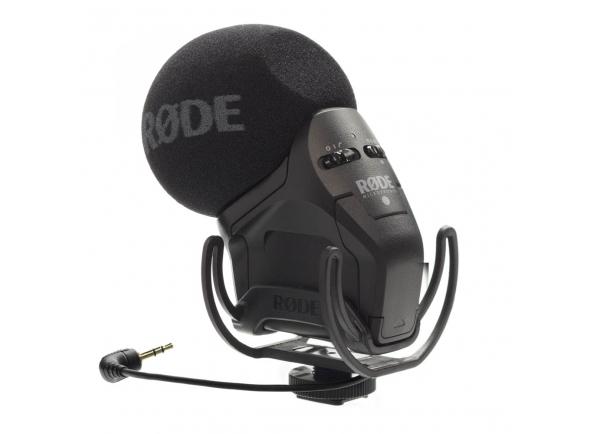 Microfone para Câmara Rode Stereo Video Mic Pro