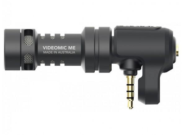 Microfone direcional para iPhone e iPad/Microfone para Câmara Rode VideoMic Me