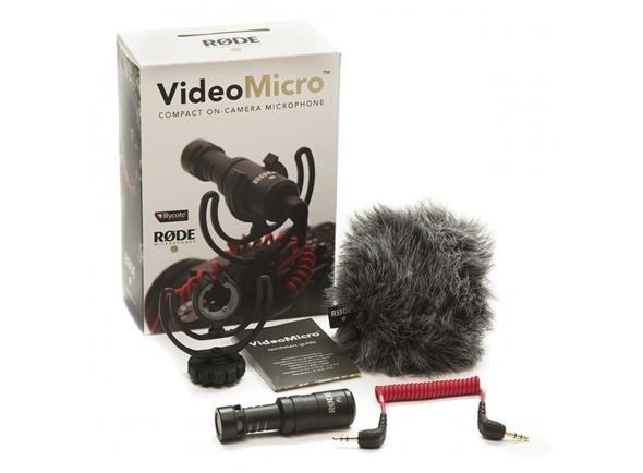 Microfone para Câmera Rode VideoMicro