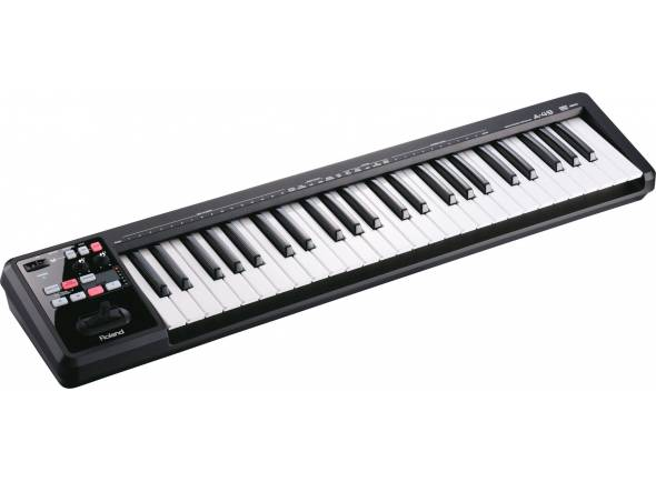Teclados MIDI Controladores/Teclados MIDI Controladores Roland A-49 Black
