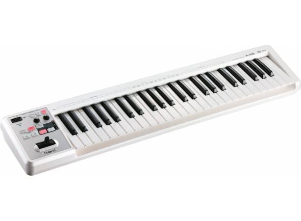 Teclados MIDI Controladores/Teclados MIDI Controladores Roland A-49 White