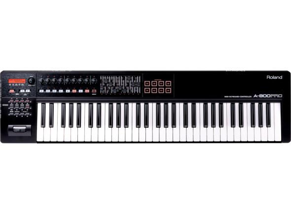 Roland teclados midi Teclados MIDI Controladores/Teclados MIDI Controladores Roland A-800PRO Teclado MIDI 61 teclas B-Stock