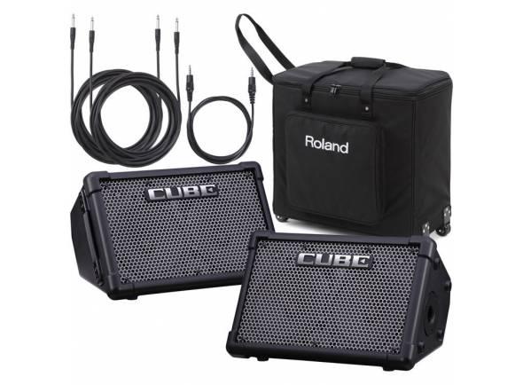 Sistemas Portáteis com Bateria Roland Cube Street EX PA Pack
