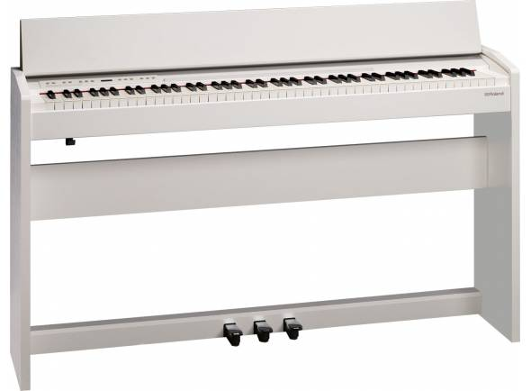Pianos Digitais de Móvel Roland F140R WH Satin White