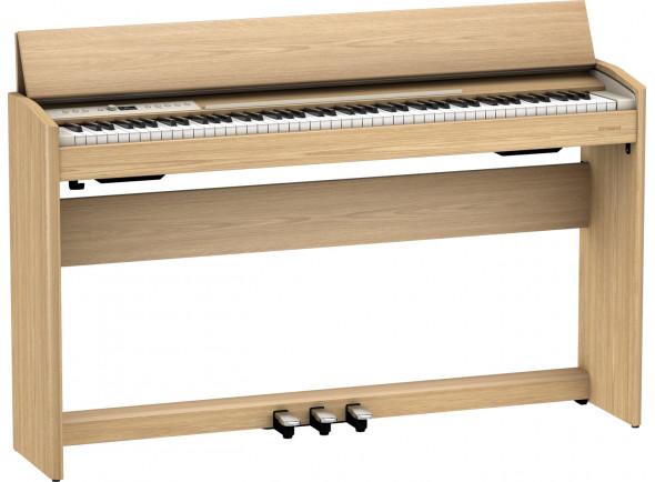 Pianos Roland com móvel em stock Piano Digital com Móvel/Pianos Digitais de Móvel Roland F701 LA Light Oak