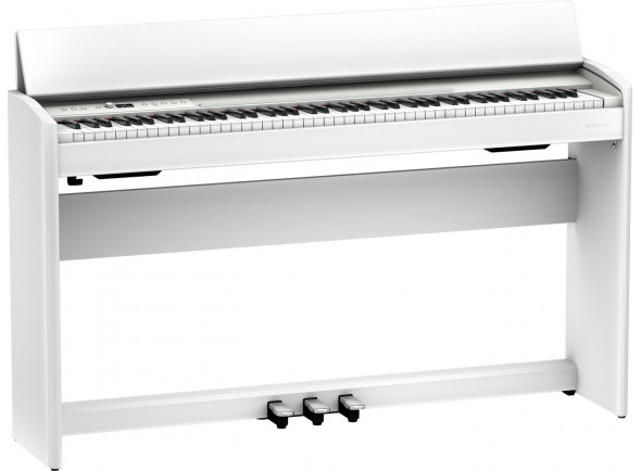Piano Digital com Móvel/Pianos Digitais de Móvel Roland F701 WH Satin White