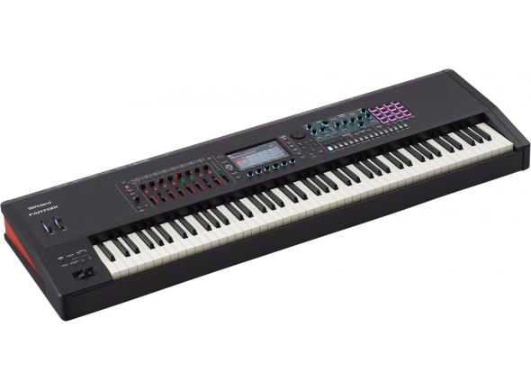 Sintetizador e sampler/Workstations Roland FANTOM 8 Workstation 88 Teclado Piano Premium
