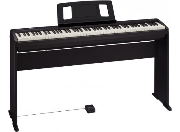 Pianos Digitais de Móvel ROLAND FP-10 BK C/ MÓVEL