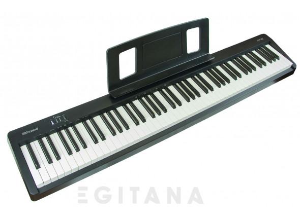 B-stock Piano portátil /Pianos Digitais Portáteis  Roland FP-10 Piano Portátil Preto Bluetooth B-Stock