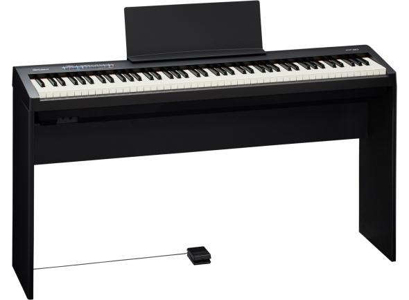 Pianos Digitais de Móvel Roland FP-30 Bk C/Móvel