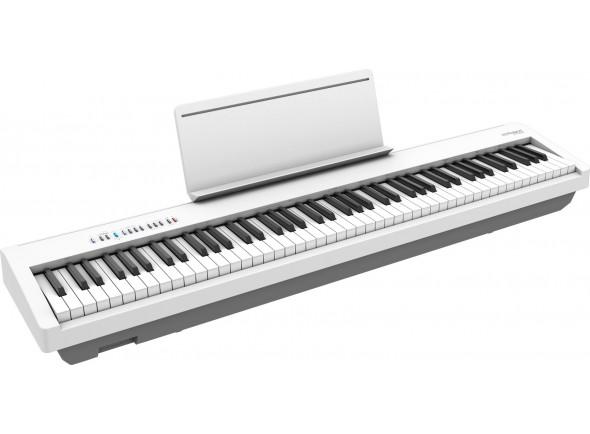 Piano portátil /Pianos Digitais Portáteis  Roland FP-30X WH Piano Digital