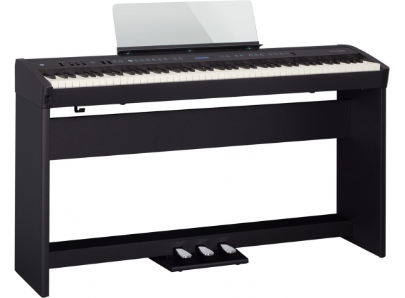 Pianos Digitais de Móvel Roland FP-60 Bk Home Bundle