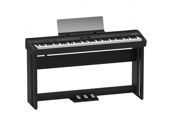 Pianos de palco Roland FP-90 Bk Home Bundle B-Stock