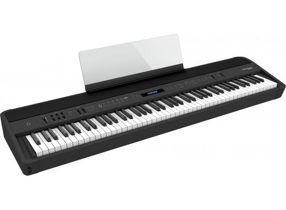 Piano portátil /Pianos Digitais Portáteis  Roland FP-90X BK Piano Digital Premium